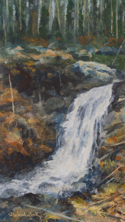 Waterfall 7 by 15