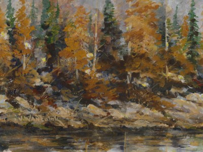 Along the Yellowstone 11 x 9 - SOLD